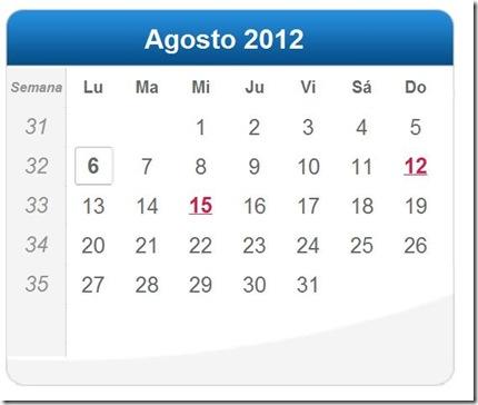 Resumo dos Artigos de Agosto de 2012