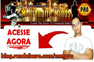 Entrei para o Time do MMpro : Millionaire Minds Pro.