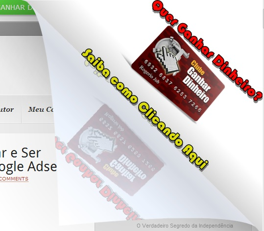 Page Peel – Como Configurar e Instalar em seu Blog